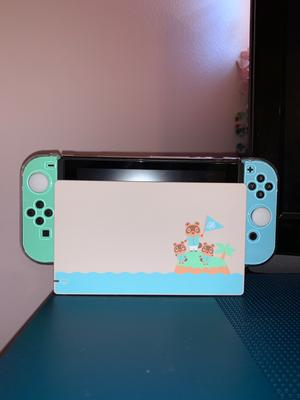 Nintendo Switch Console Animal Crossing New Horizons Edition