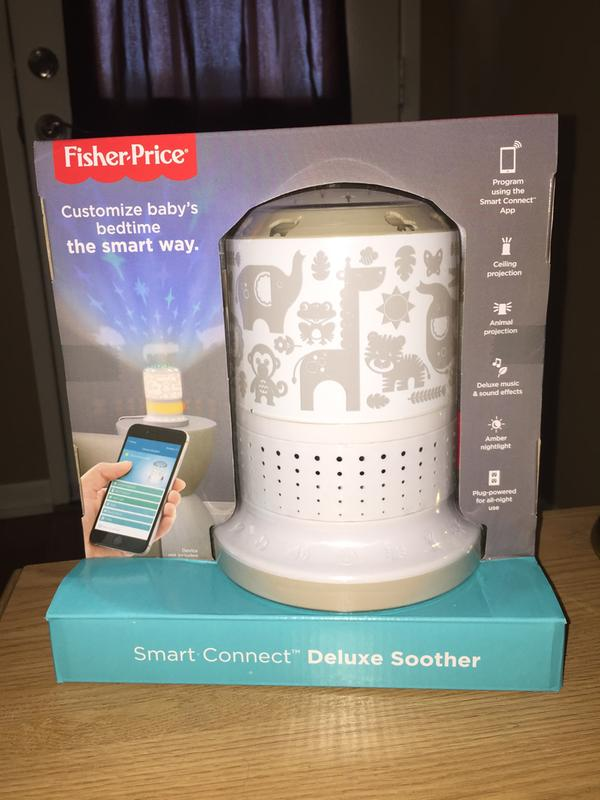 SIOC Fisher-Price SmartConnect Deluxe Soother
