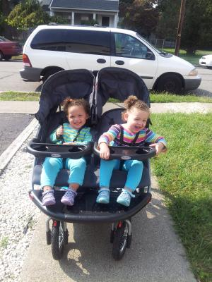 Tropic Baby Trend Navigator Double Jogger Stroller