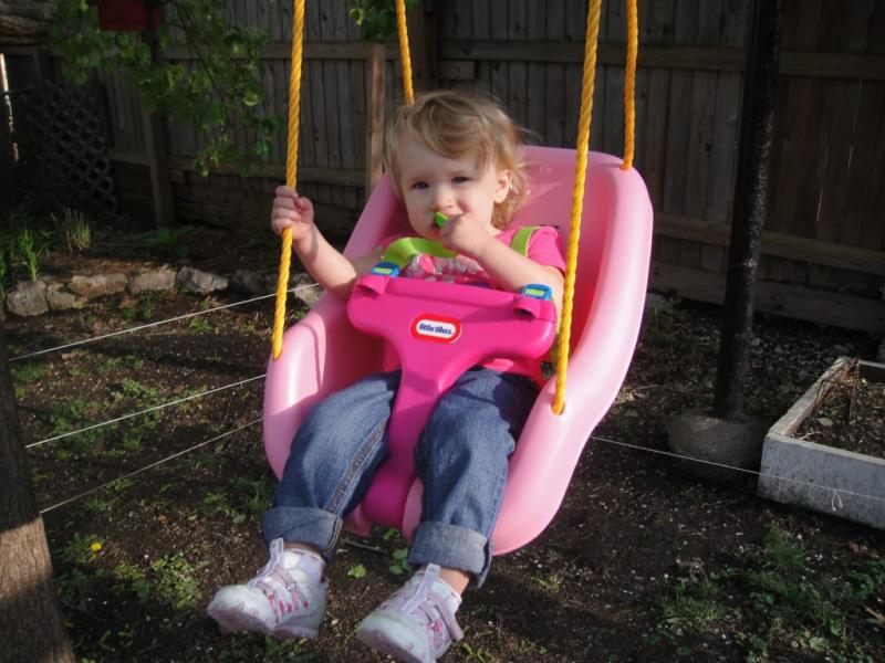 Little Tikes 2 In 1 Snug And Secure Swing Blue Walmart Com
