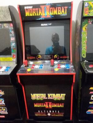 Mortal Kombat Arcade Machine, Arcade1UP, 4ft (Includes