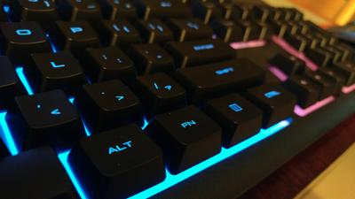 Corsair Gaming K55 RGB Keyboard, Backlit RGB LED - Walmart com