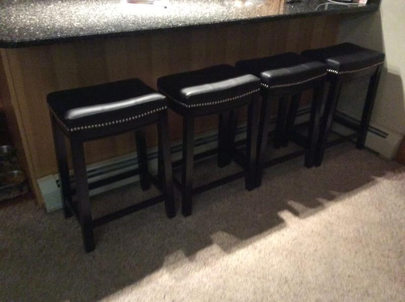 Amazing Linon Claridge Bar Stool 30 Inch Seat Height Multiple Andrewgaddart Wooden Chair Designs For Living Room Andrewgaddartcom