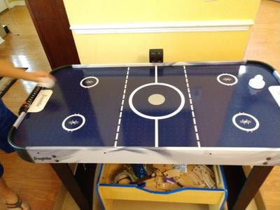 "Air Hockey Table Franklin Sports 48/"" Straight Leg"