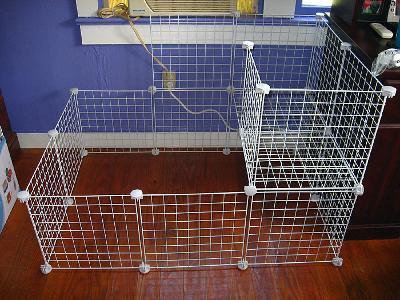 Wire Storage Cube Rabbit Cage Dandk Organizer