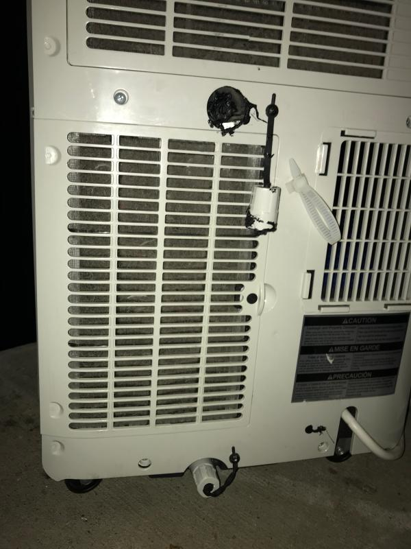 LG 8,000 BTU 115V Portable Air Conditioner with Remote Control, White
