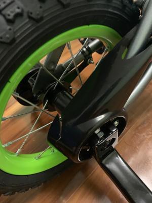 Silver Matte Huffy 12-Inch Rock It Boys Bike Lime NEW