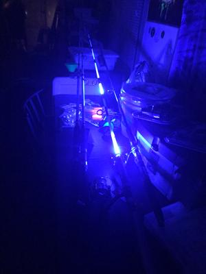 Night Fishing Electronic Light Fishing Rod Glow Stick Waterproof Glow La TDssPTU