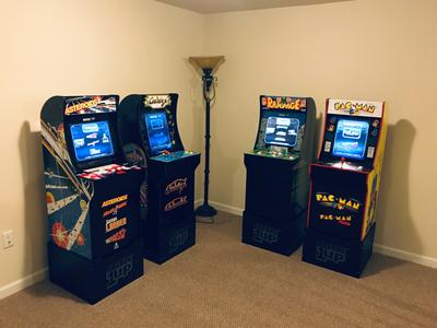 Galaga Arcade Machine, Arcade1UP, 4ft (Walmart Exclusive) - Walmart com