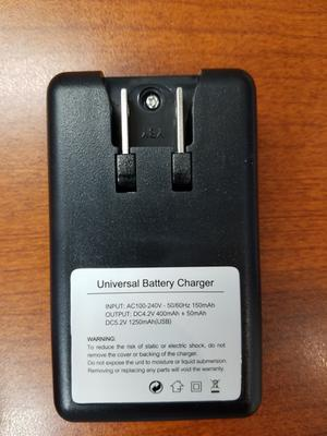 Universal External Mobile Phone Battery Desktop Charger USB Port LCD Display