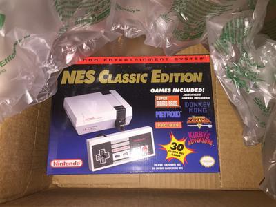 Nintendo Entertainment System: NES Classic Edition - Walmart com