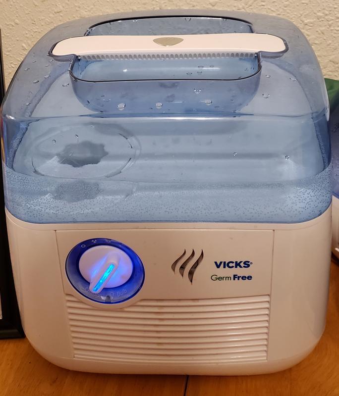 Vicks Germ Free Cool Mist Humidifier V3900 Walmart Com Walmart Com