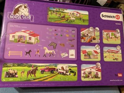 Schleich Horse Care putzbox with hufkratzer 42366 OVP