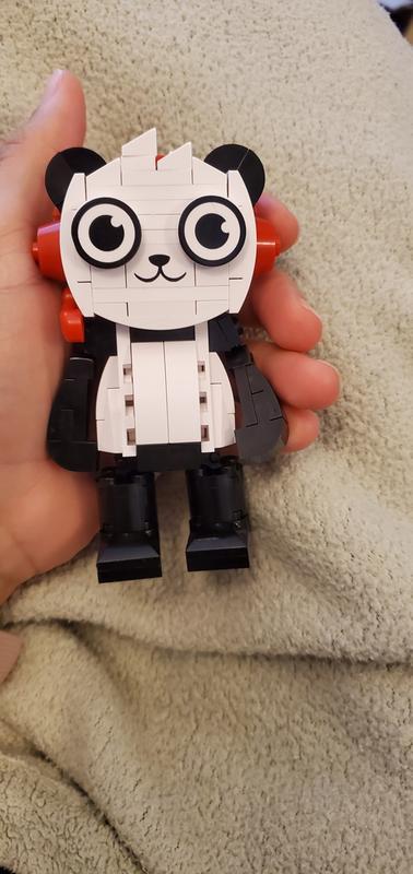 Combo Panda RYANS WORLD Build-It Stackable Brick Set