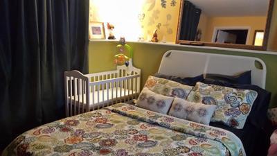 Pecan LA Baby The Original Bedside Manor