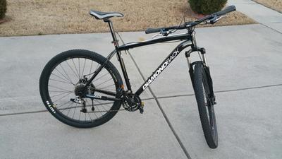 Huffy 29 Men S Warhawk Mid Fat Tire Bike Black Walmart Com