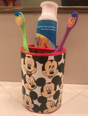Disney Mickey Mouse Toothbrush Holder 1 Each Walmart Com Walmart Com