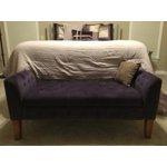 Homepop Velvet Tufted Storage Bench And Settee Light Gray