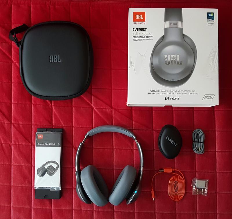 6a38dda0908 JBL Everest Elite 750NC Wireless Over-Ear Noise Cancelling Headphones -  Gunmetal - Walmart.com