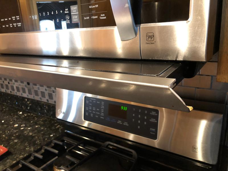 LG LMHM2237ST 2 2 Cubic Feet Over-The-Range Microwave Oven