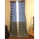 Mainstays Calix Fashion Window Curtain Panel Set Of 2