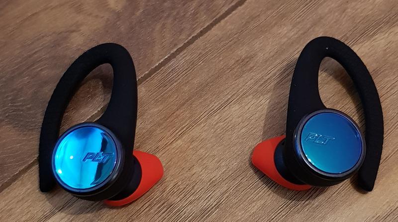 Plantronics Backbeat Fit 3100 True Wireless Earbuds Sweatproof And Waterproof In Ear Workout Headphones Black Walmart Com Walmart Com