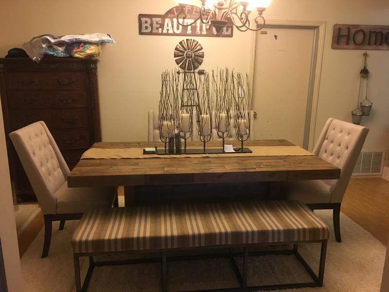 Ashley Furniture Sommerford Rectangular Dining Table In Brown Walmart Com Walmart Com