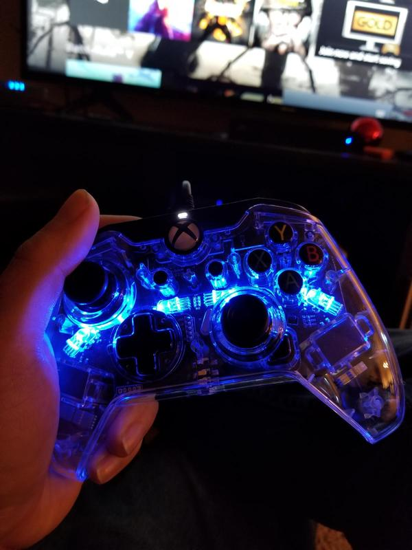 PDP Afterglow Prismatic Xbox One Wired Controller, Multiple Colors