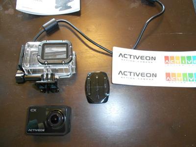 Activeon Cx Action Camera 1080p 30fps 5mp Cmos Sensor Lcd Waterproof Housing Walmart Com Walmart Com