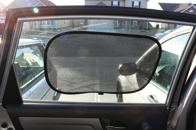 Practical Pearl Milk Tea Car Sunshade for Most Cars UV Rays Reflective Car Sunshade Visor Front Windshield