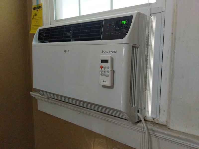 Lg 22 000 Btu 230v Dual Inverter Window Air Conditioner With Wi Fi Control Walmart Com Walmart Com