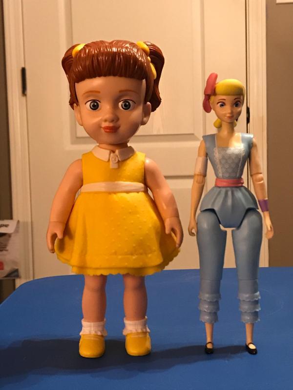 9.7 in Posable Cha Disney Pixar Toy Story 4 Gabby Gabby Figure 24.64 cm Tall