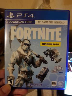 Fortnite Deep Freeze Bundle Warner Playstation 4 883929662623