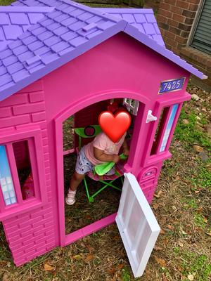 Marvelous Little Tikes Princess Cottage Playhouse Pink Walmart Com Download Free Architecture Designs Saprecsunscenecom
