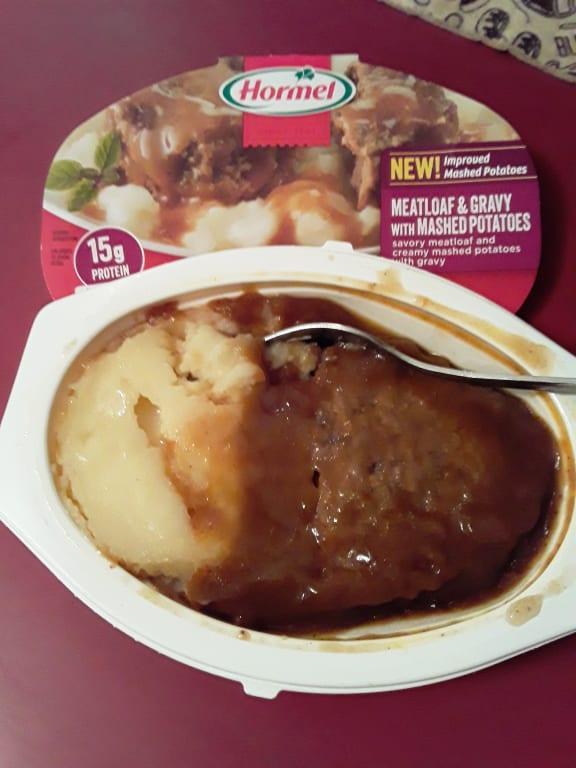 Hormel Compleats Meatloaf Gravy With Mashed Potatoes 9 Ounce Walmart Com Walmart Com