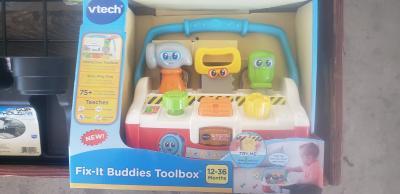 English Version VTech Fix-It Buddies Toolbox