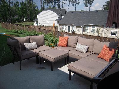 Sandhill 7 Piece Outdoor Sofa Sectional Set Seats 5 Sofa Ideas