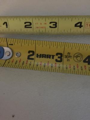 Hart Tape Measure USA Brand