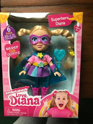 Details about  /Love Diana doll new toys. Superhero 6 in One of 2020/'s hottest