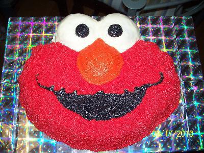 Sensational Elmo Cake Pan Walmart Com Walmart Com Personalised Birthday Cards Veneteletsinfo