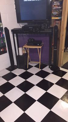 Achim Nexus White 12x12 Self Adhesive Vinyl Floor Tile 20 Tiles Sq Ft