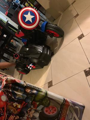 Magnificent Marvels Captain America Motorcycle With Sidecar Ride On Toy Pabps2019 Chair Design Images Pabps2019Com