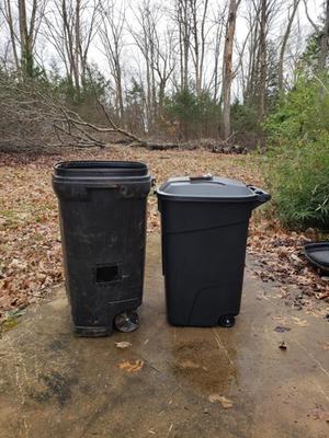 Ecoark 45 Gallon Wheeled Trash Can - Walmart com