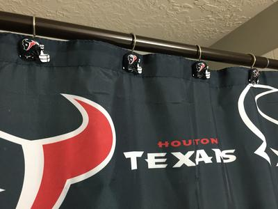NFL Houston Texans Shower Curtain 1 Each