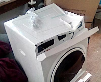 High efficiency dryer filter set for Magic Chef 3.5 Cu.Ft dryer MCSDRY35W
