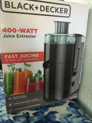 Black Decker Fruit And Vegetable Juice Extractor With Space Saving Design Black Je2400bd Walmart Com Walmart Com Free delivery on millions of items with prime. black decker fruit and vegetable juice extractor with space saving design black je2400bd