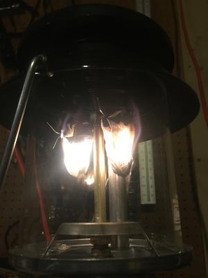 Coleman 2-Mantle Dual Fuel Lantern