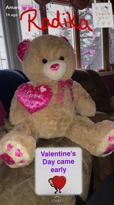 Made To Love Made To Hug 3xl Tan Bear Walmart Com
