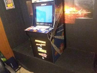 Asteroids Arcade Machine, Arcade1UP, 4ft - Walmart com