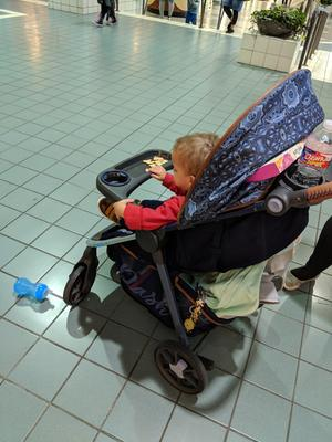 Antibacterial Grocery Baby Gear Buggy Trolley-Teal Protect Your Kids Shopping Cart Cover by Klean Grips